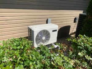 Heat pump installation for Carrier ductless mini split in West Windsor, NJ